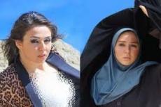 آیا آزاده نامداری ممنوع الفعالیت شده است کشف حجاب خانم بازیگر