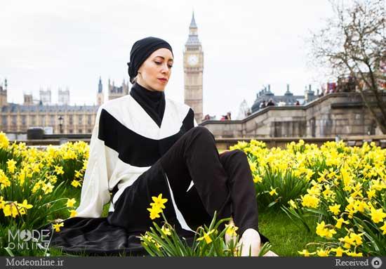 سارا مدل باحجاب ایرانی در خارج
